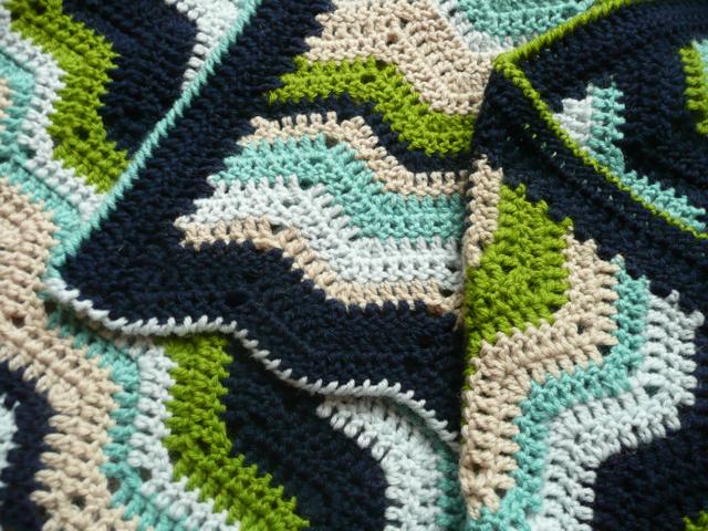 Crochet Pattern Baby Ripple Blanket : Ripple Baby Blanket Pattern ? Catalog of Patterns