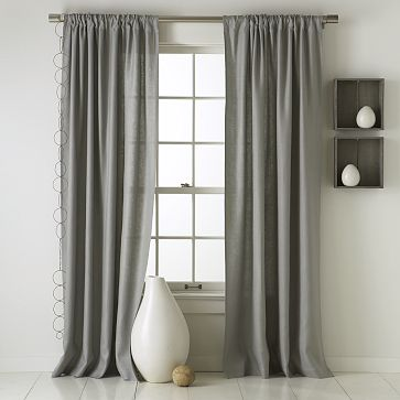 Rule of thumb for width of drapery panels? - Home Decorating