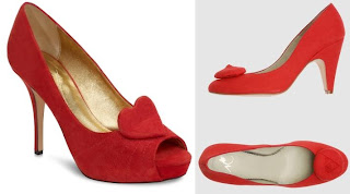 Kate Spade Red Heels and Cheaper Option @ Chasing Davies