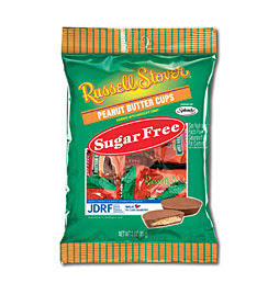Russell Stovers Sugar Free Peanut Butter Cups @ Chasing Davies