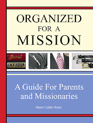 FOR THOSE WITH AN UPCOMING MISSIONARY