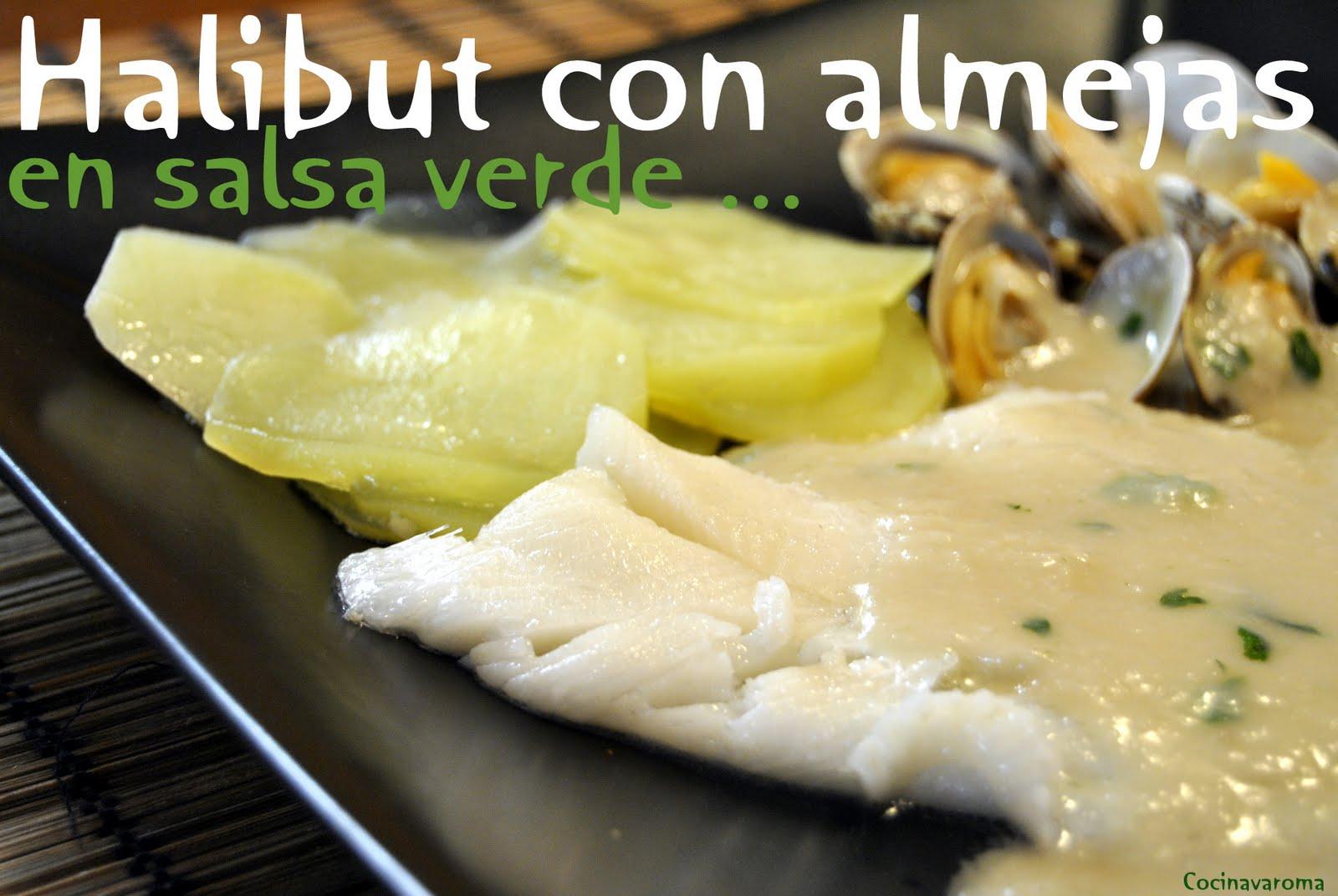 Cocina varoma halibut con almejas y patatas en salsa verde - Almejas con salsa verde ...