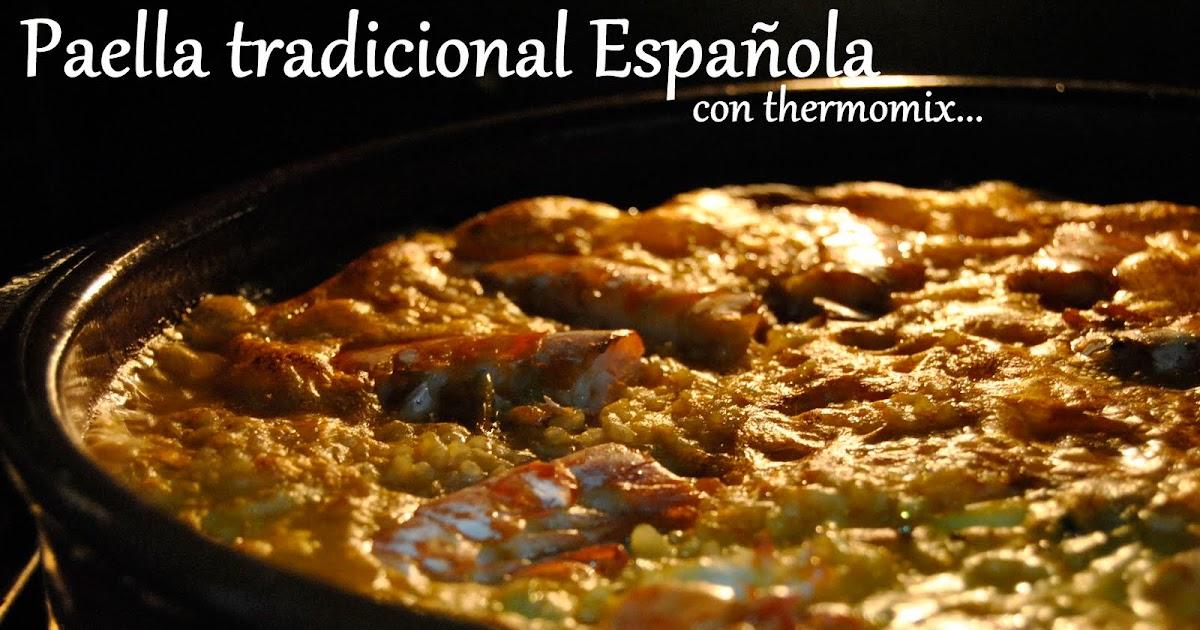 Cocina varoma paella tradicional espa ola con thermomix for Cocina tradicional espanola