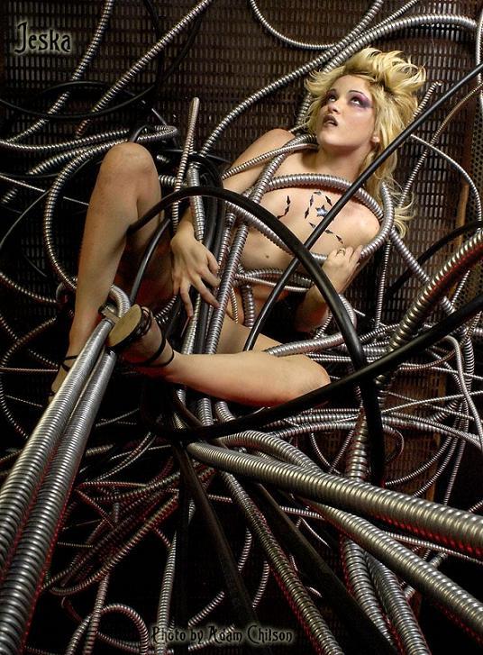 adam chilson fotografia arte submissão erótica cibernética