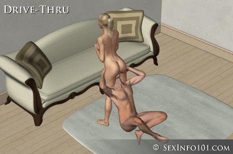 posições sexuais sexo oral mulher drive thru