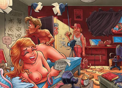 como fazer pornô cartoon