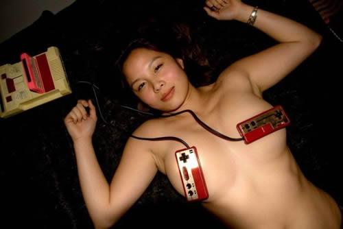 game controle peitos japinha