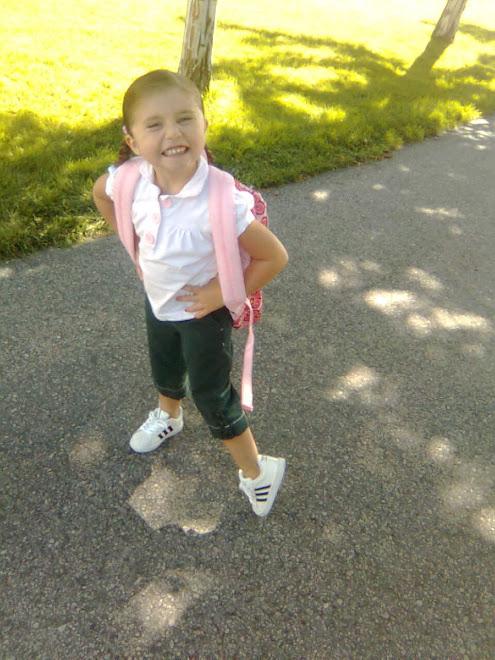 Shia Walking to School