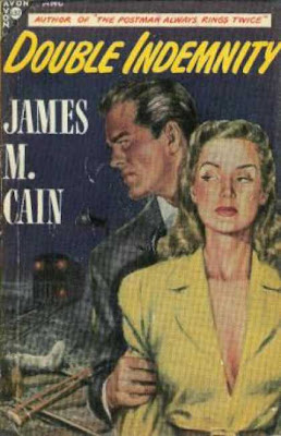I love these old pulp covers.  Check out how the dame is seething with evil-ness