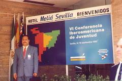 LIC. DOMINGO GUTIERREZ CRUZ EN SEVILLA ESPAÑA 1992