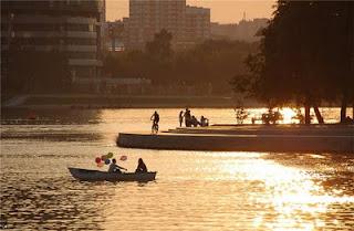 Iset river, Ekaterinburg