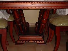 Mesa parte abajo