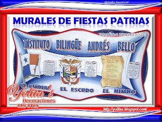 Yolitas decoraciones mi rcoles 10 de noviembre de 2010 for Diario mural fiestas patrias chile
