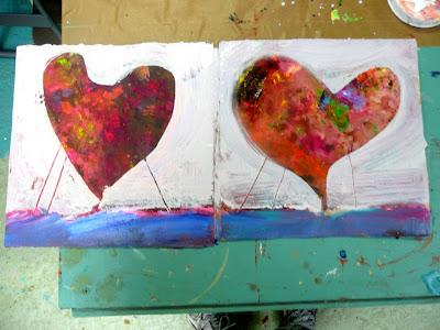 Nancy Standlee Fine Art Hearts To You And Valentine