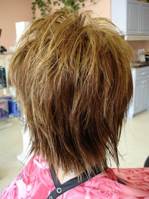 trendy fashionable haircuts front and back