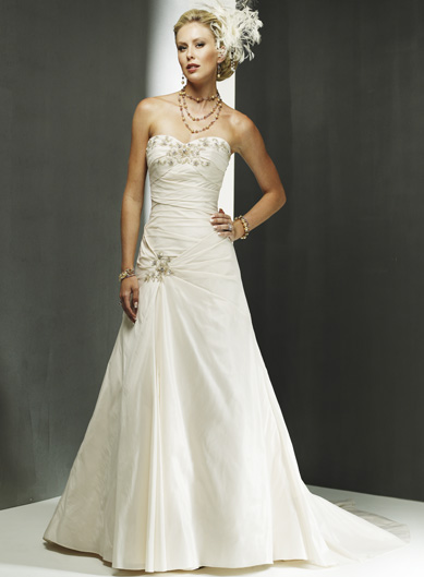Pin Up Wedding Gown. Pin up wedding dress
