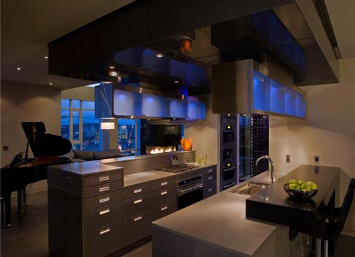 Home Design and Interior: Luxury home kitchen design 2010