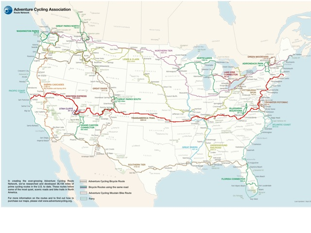 My Route, More or Less (Red line, but starting in NY)