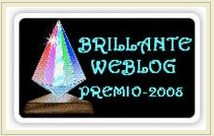 Brilliant Web blog Award