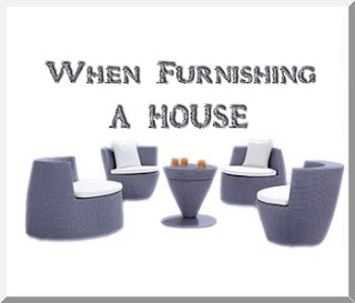 When Furnishing a House Photo
