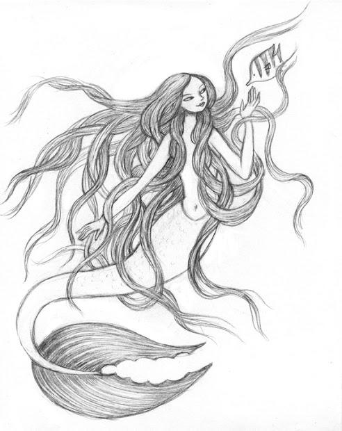 artghost mermaid giant