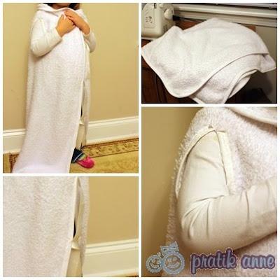 Proje 10 – Basit kollu uyku battaniyesi