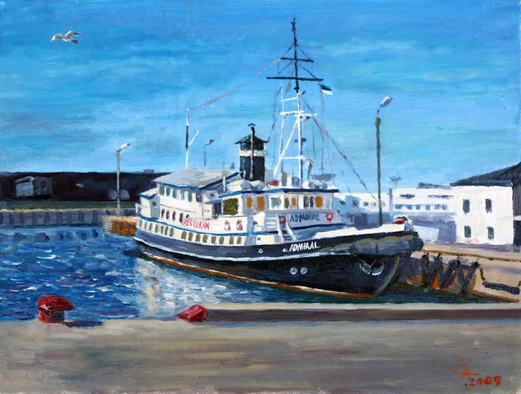 7.Admiral restaurant,oil on canvas,41x38cm,Estonia 2009