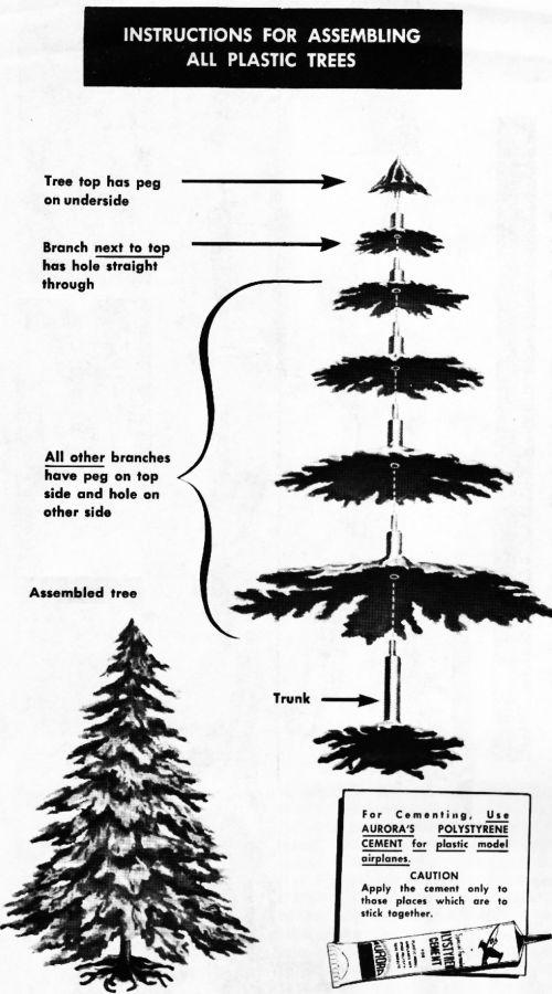 Fold Away Christmas Tree
