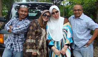 foto Uncle Seekers dan Permaisuri Aishah