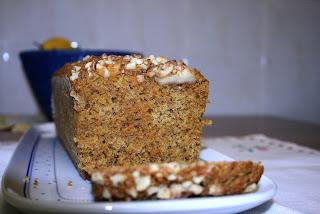CAKE DE ZANAHORIA Y NUECES