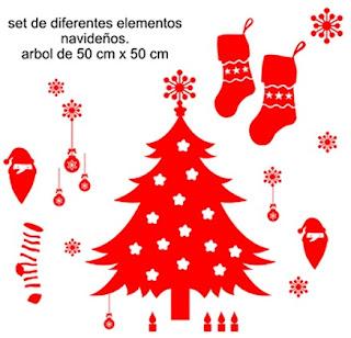 Vinilos Decorativos Para Navidad Decoracion De Interiores - Decorativos-de-navidad