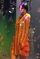 Condom Fashion Show in China