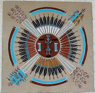 Miscellaneous Pics: Navajo Sand Painting