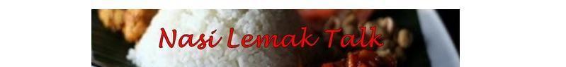 Nasi Lemak Talk