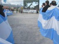 Acto en Ushuaia