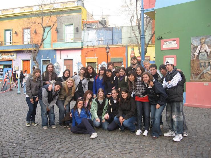 Intercambio Estudiantil Buenos Aires 2008