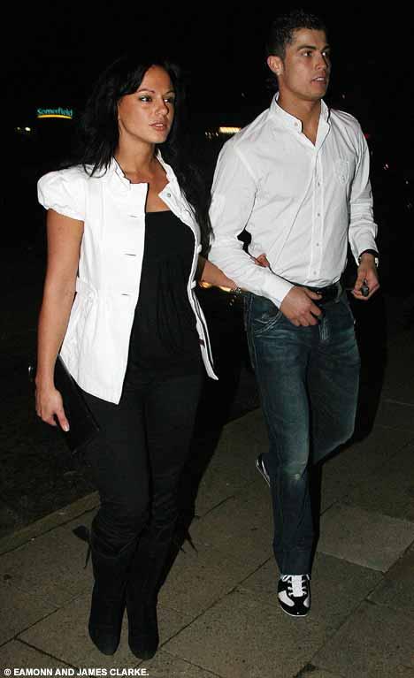 Cristiano Ronaldo and Girlfriend