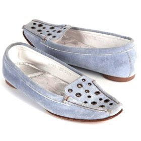 Coach Norah Light Blue loafers Women Shoe