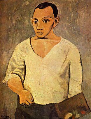 Pablo Picasso Self Portrait 1906