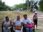 Sra. María Lucila Pérez de 67 años, ya tiene 3 años en Misión Robinson y participa de este festival