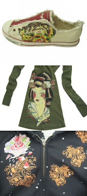 ed hardy asian-inspired clothes