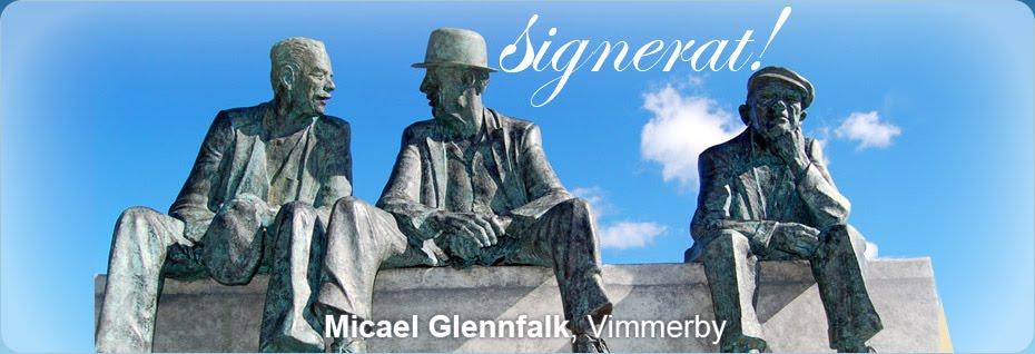 Signerat Micael Glennfalk Vimmerby