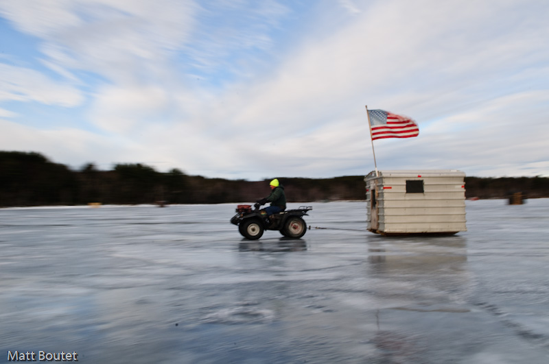 Hardwater sebago derby 2010 for Maine ice fishing derbies