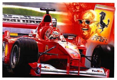 Schumacher-Enzo Ferrari