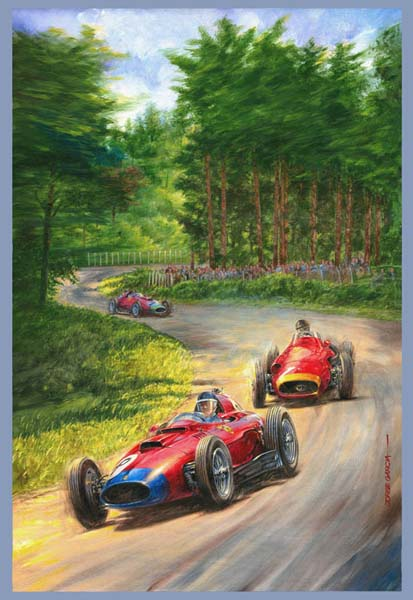 Juan Manuel Fangio - Maserati 250F