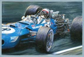 Jackie Stewart-Matra MS10 Cosworth