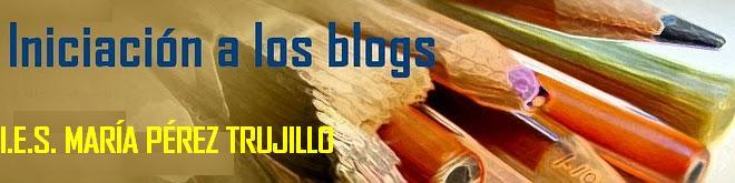 INICIACIÓN A LOS BLOGS. C.E.I.P.TOSCAL LONGUERA