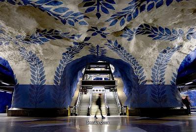 Metro de Suecia -Estocolmo