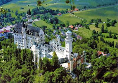 Donde viajar: castillo Neuschwanstein - Alemania