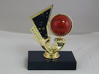 Youth Intramural Spinner Basketball Trophy